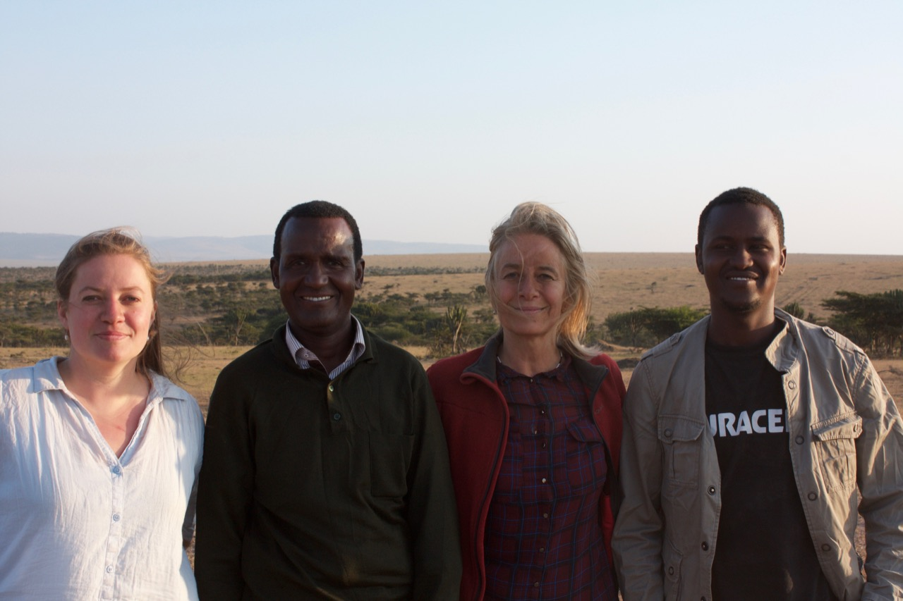 The Oreteti research team